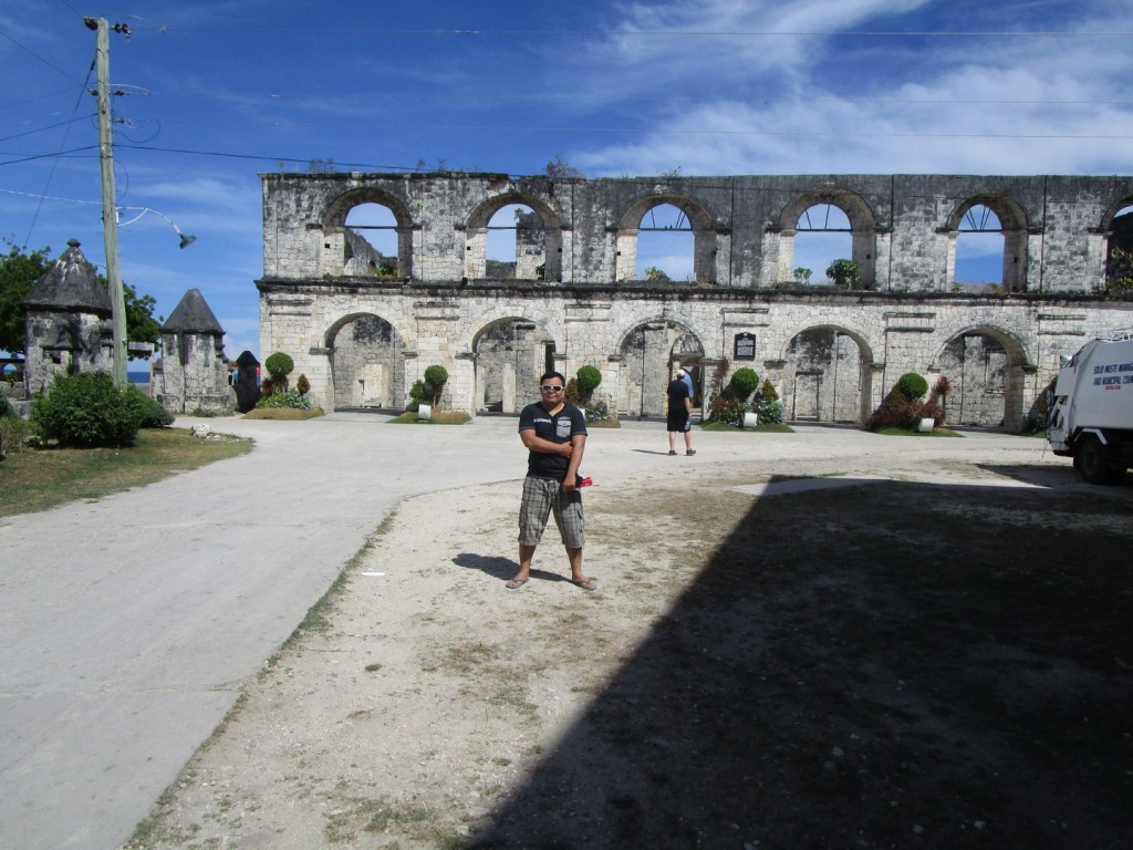 me and the ruins
